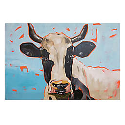 Canvas Candy™ Modern Moo Canvas Wall Art