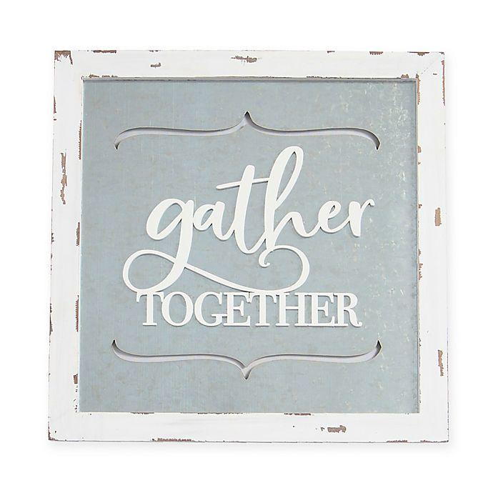 Alternate image 1 for Sweet Bird & Co™ Gather Together Framed Wood Wall Art