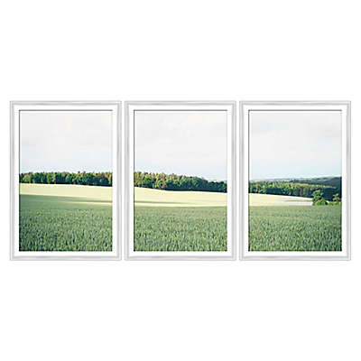 Bee & Willow™ Home Green Landscapes 3-Piece Framed Wall Art