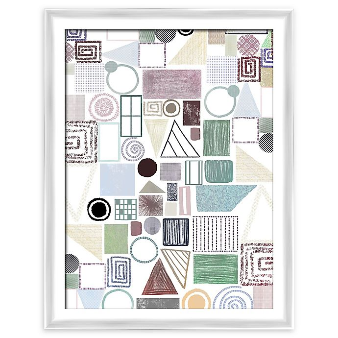 Alternate image 1 for PTM Images Geometric Forms 21-Inch x 27-Inch Framed Wall Art