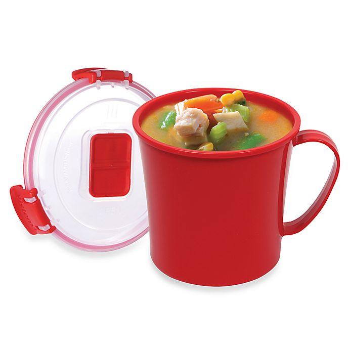 Alternate image 1 for Sistima® KLIP IT™ Microwavable 22 oz. Mug