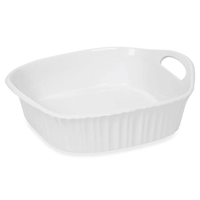 Alternate image 1 for CorningWare® French White® III 8-Inch Square Baking Dish