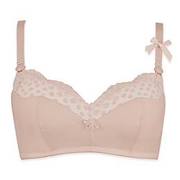 Cache Coeur Lollypop Wireless Maternity and Nursing Bra in Nude