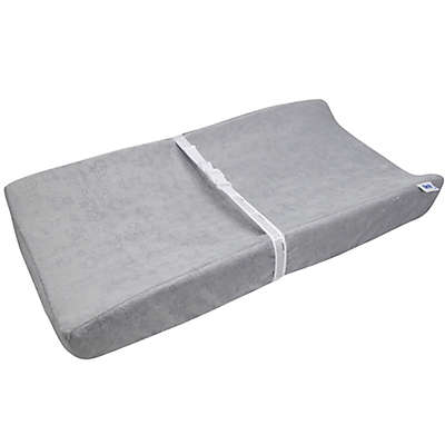 Serta® Perfect Sleeper Changing Pad and Plush Cover in Grey