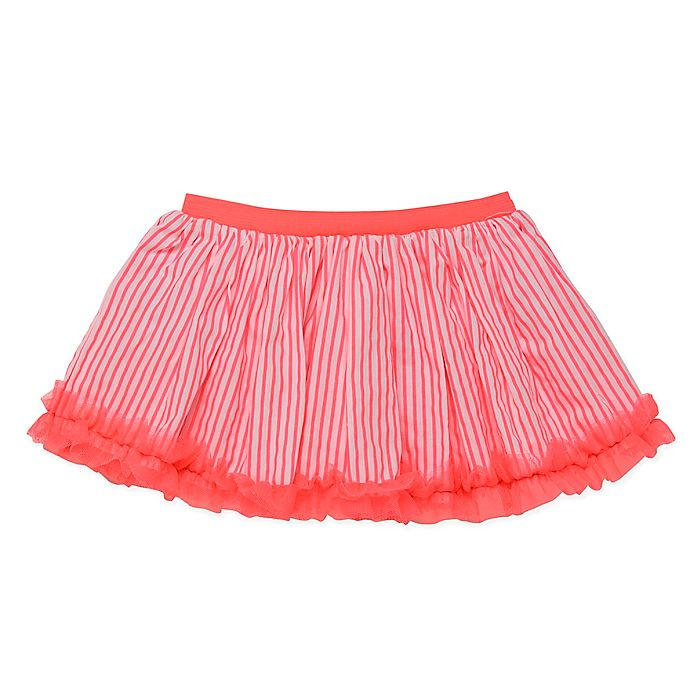 Alternate image 1 for Baby Starters® Striped Tutu in Pink