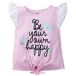 "Gerber® ""Be Your Own Happy"" Short Sleeve Top"