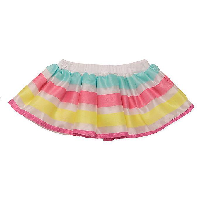 Alternate image 1 for Baby Starters® Multicolor Stripe Tutu Skirt