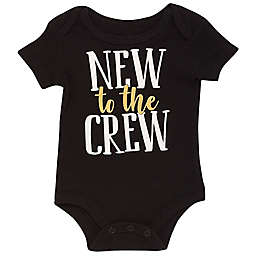 Baby Starters® BWA® New to the Crew Bodysuit in Black
