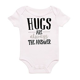 Baby Starters® BWA® Hugs Are the Answer Bodysuit in White