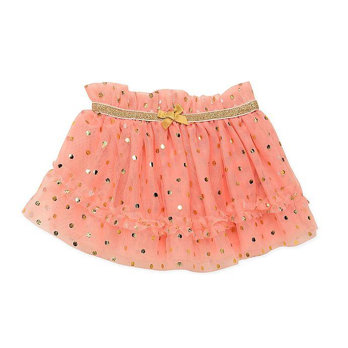 Alternate image 1 for Baby Starters® Foil Dot Tulle Tutu in Pink