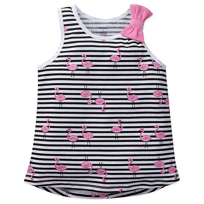 Alternate image 1 for Gerber® Flamingo Sleeveless Top