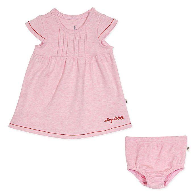 Alternate image 1 for ED Ellen DeGeneres 2-Piece Stay Little Dress and Diaper Cover Set in Pink