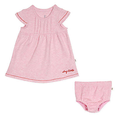 ED Ellen DeGeneres 2-Piece Stay Little Dress and Diaper Cover Set in Pink