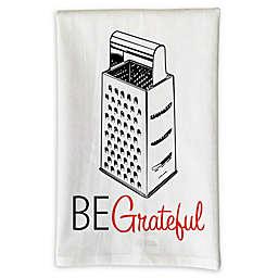 """Love You A Latte Shop """"Be Grateful"""" Kitchen Towel"""
