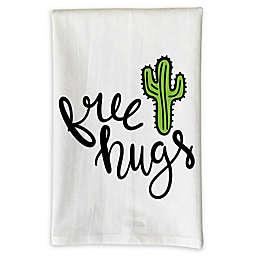 "Love You A Latte Shop ""Free Hugs"" Kitchen Towel"