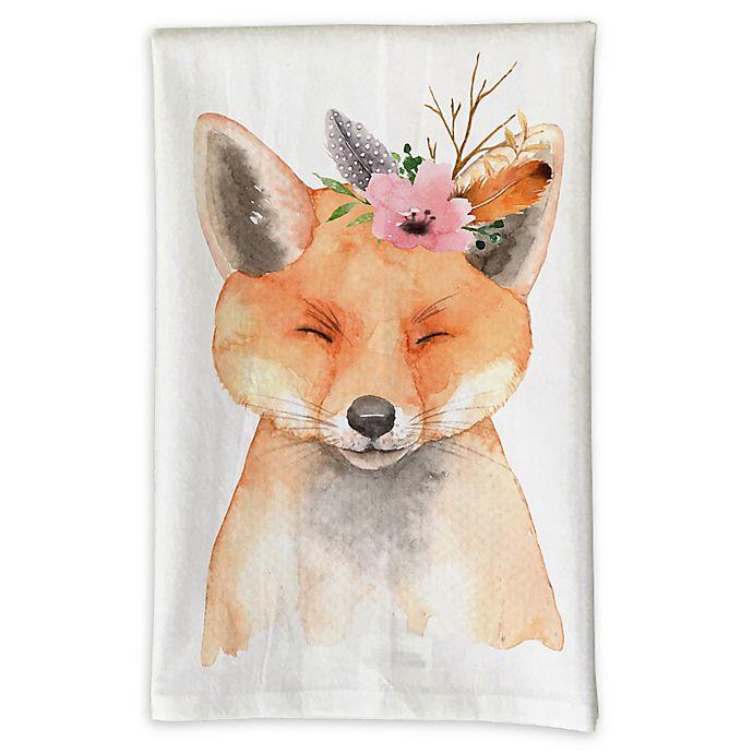Love You A Latte Fox Kitchen Towel Bed Bath Beyond