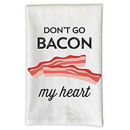 "Love You A Latte Shop ""Don't Go Bacon My Heart"" Kitchen Towel"
