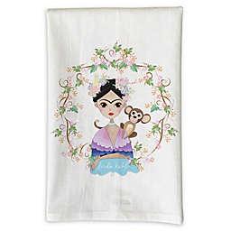 Love You a Latte Shop Frida Kahlo Kitchen Towel
