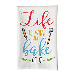 Love You a Latte Shop Life is What You Bake of it Kitchen Towel