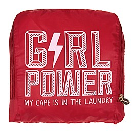 Miamica® Girl Power Laundry Bag in Red/White