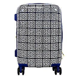 Macbeth Geo 29-Inch Hardside Spinner Checked Luggage in Blue