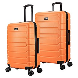 InUSA Trend II Hardside Spinner Checked Luggage