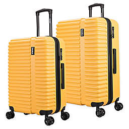 InUSA Ally Hardside Spinner Checked Luggage