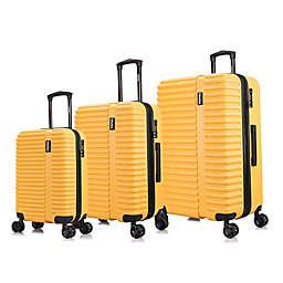 InUSA Ally 3-Piece Hardside Spinner Luggage Set