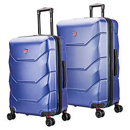 DUKAP® Zonix Hardside Spinner Checked Luggage