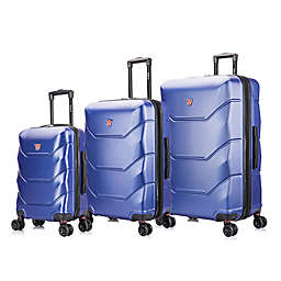 DUKAP® Zonix 3-Piece Hardside Spinner Luggage Set