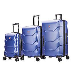 DUKAP® Zonix 3-Piece Hardside Spinner Luggage Set