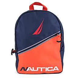 Nautica® Kids Colorblock Diagonal Zip 16.5-Inch Full Size Backpack