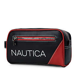 Nautica® Top Zip Travel Organizer Kit in Red