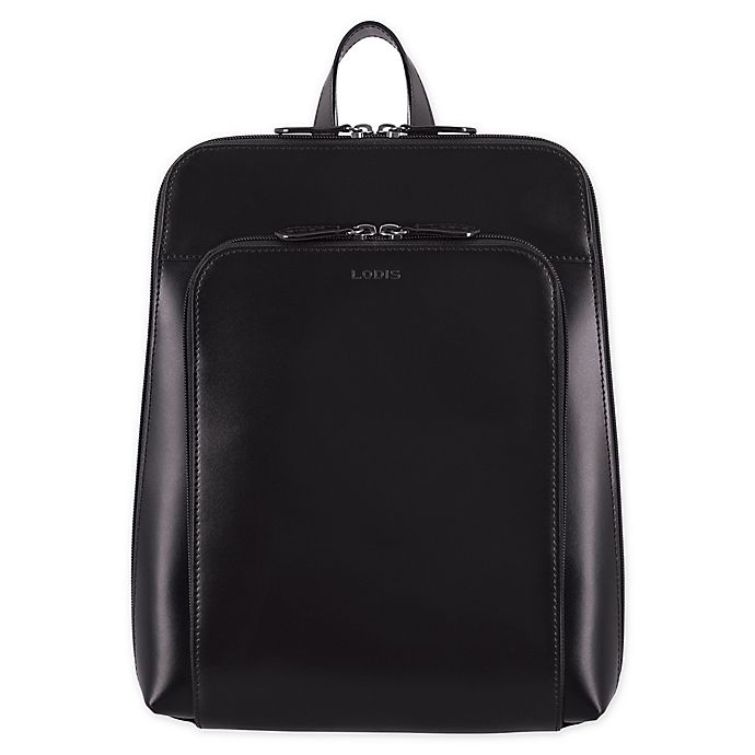 Alternate image 1 for Lodis® Ryder 12.5-Inch Backpack in Black