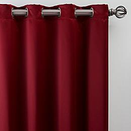Silken Grommet Window Curtain Panel