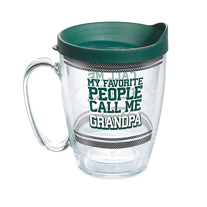 Alternate image 1 for Tervis® Favorite People Call Me Grandpa 16 oz. Wrap Mug with Lid