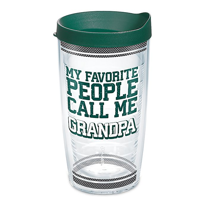 Alternate image 1 for Tervis® Favorite People Call Me Grandpa 16 oz. Wrap Tumbler with Lid