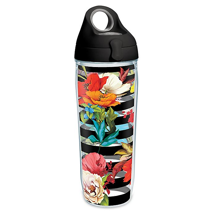 Alternate image 1 for Tervis® Modern Botanical 24 oz. Water Bottle with Lid