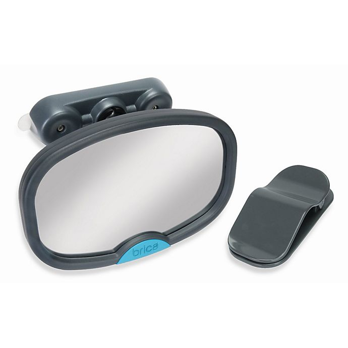 Alternate image 1 for Brica® Deluxe Stay-in-Place™ Car Back Seat Mirror