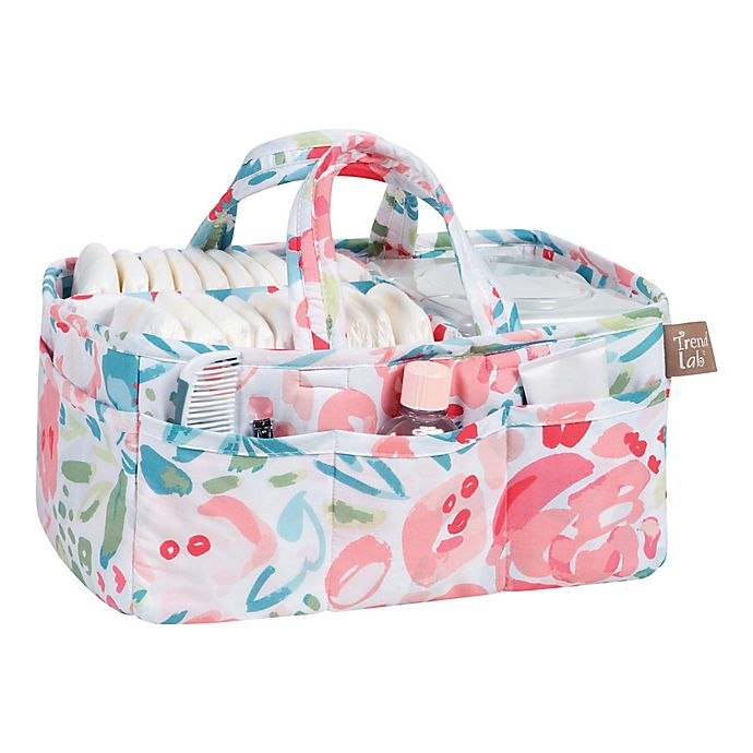 Alternate image 1 for Trend Lab® Painterfly Floral Multicolor Storage Caddy