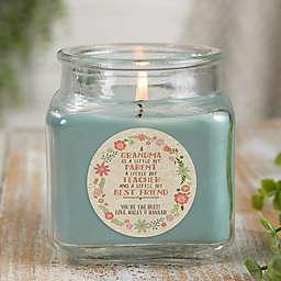 My Grandma, My Friend Personalized Eucalyptus Spa Candle Jar- Small