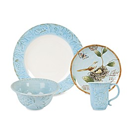 Fitz and Floyd® Toulouse Dinnerware Collection in Blue