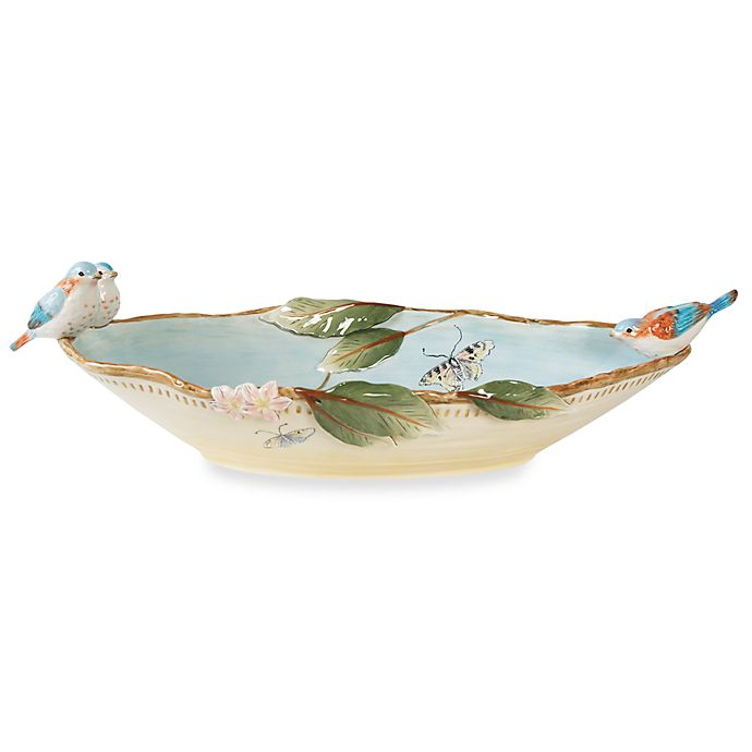 Alternate image 1 for Fitz and Floyd® Toulouse 20.5-Inch Centerpiece Bowl