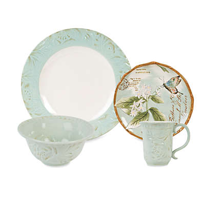 Fitz and Floyd® Toulouse Dinnerware Collection in Green