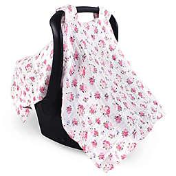 Luvable Friends™ Muslin Floral Car Seat Canopy