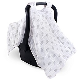 Luvable Friends™ Muslin Elephant Car Seat Canopy