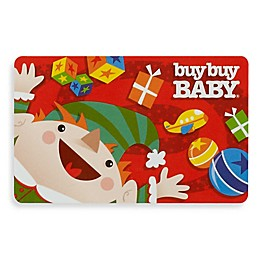 "buybuy Baby ""Holiday Elf"" Gift Card $25.00"