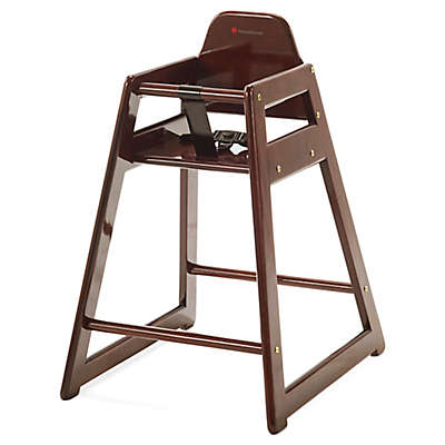 Foundations® NeatSeat™ Foodservice Hardwood High Chair