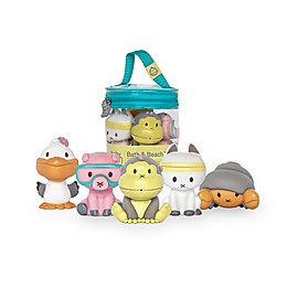 Baby Bum 6-Piece Duke and Friends Bath Toys
