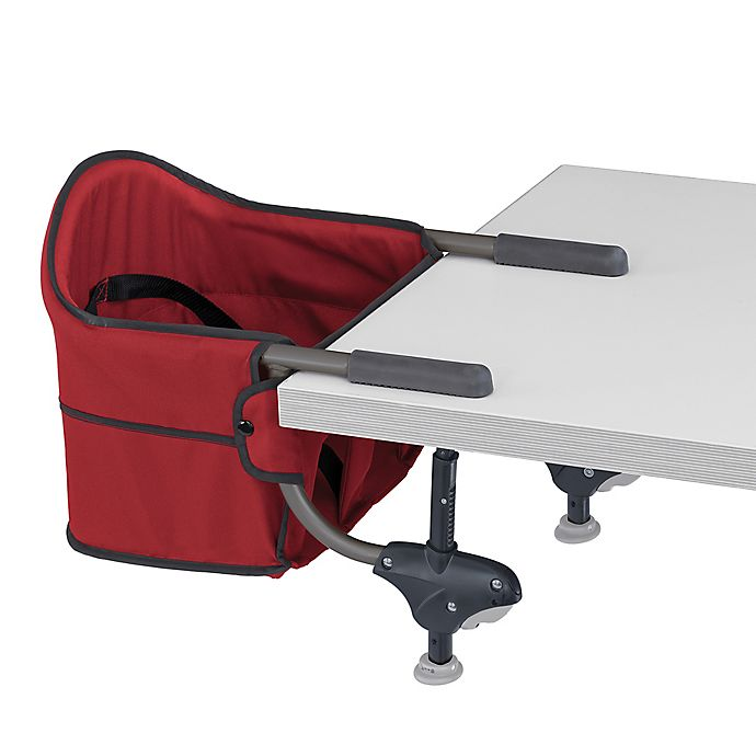 Alternate image 1 for Chicco® Portable Hook-On Chair in Red